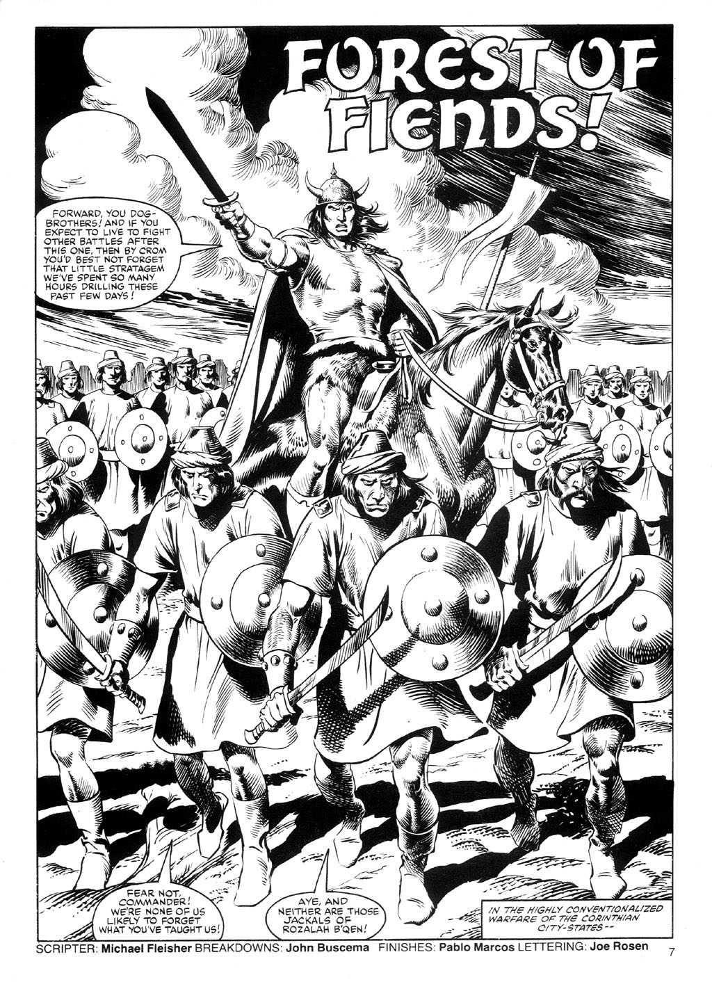 The Savage Sword Of Conan Issue #91 #92 - English 6