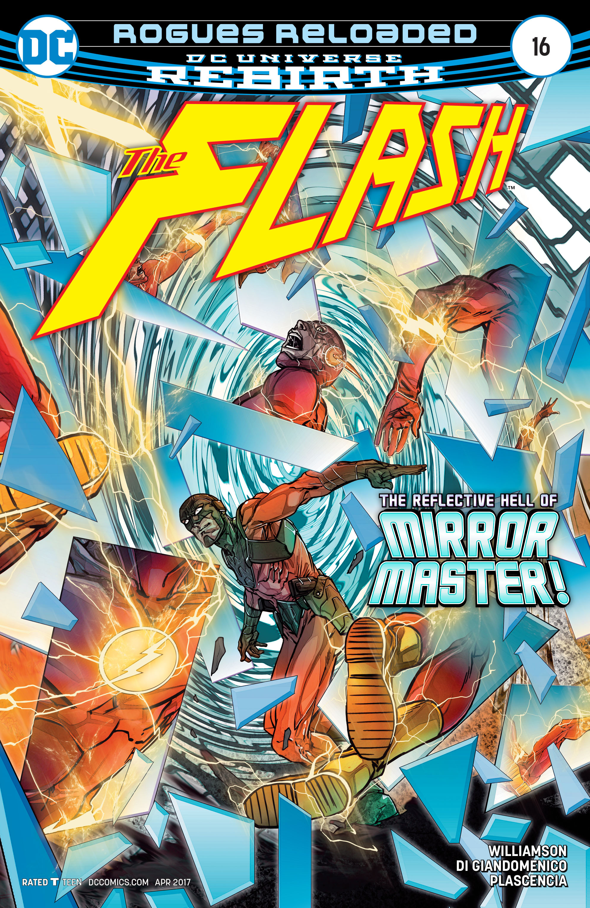 The Flash (2016) issue 16 - Page 1