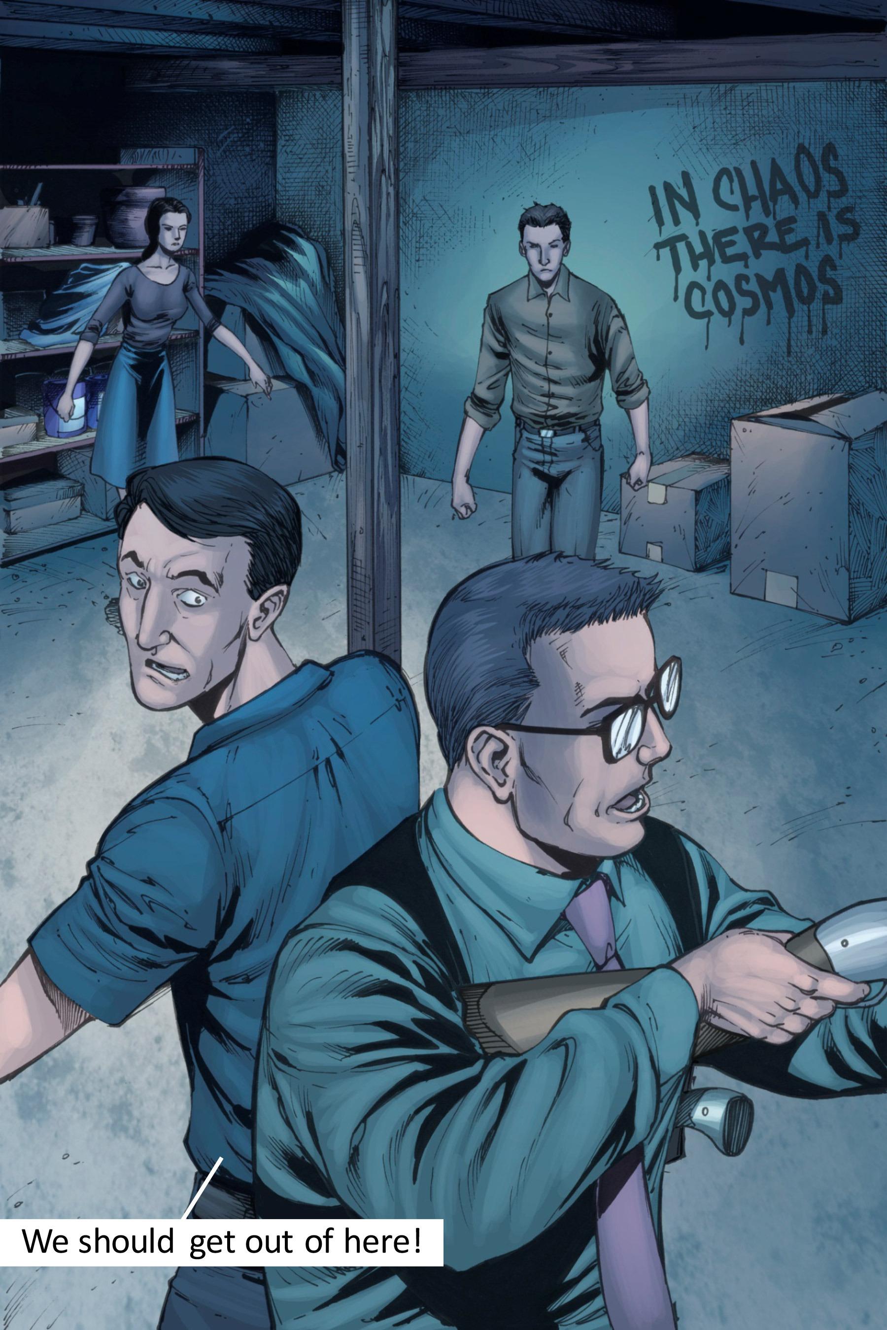 Read online Z-Men comic -  Issue #3 - 83