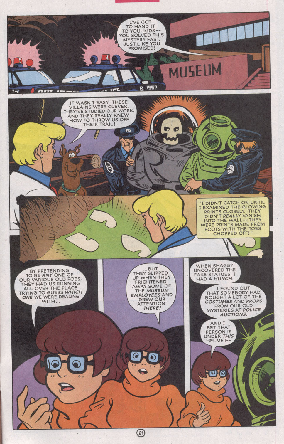 Read online Scooby-Doo (1997) comic -  Issue #74 - 33