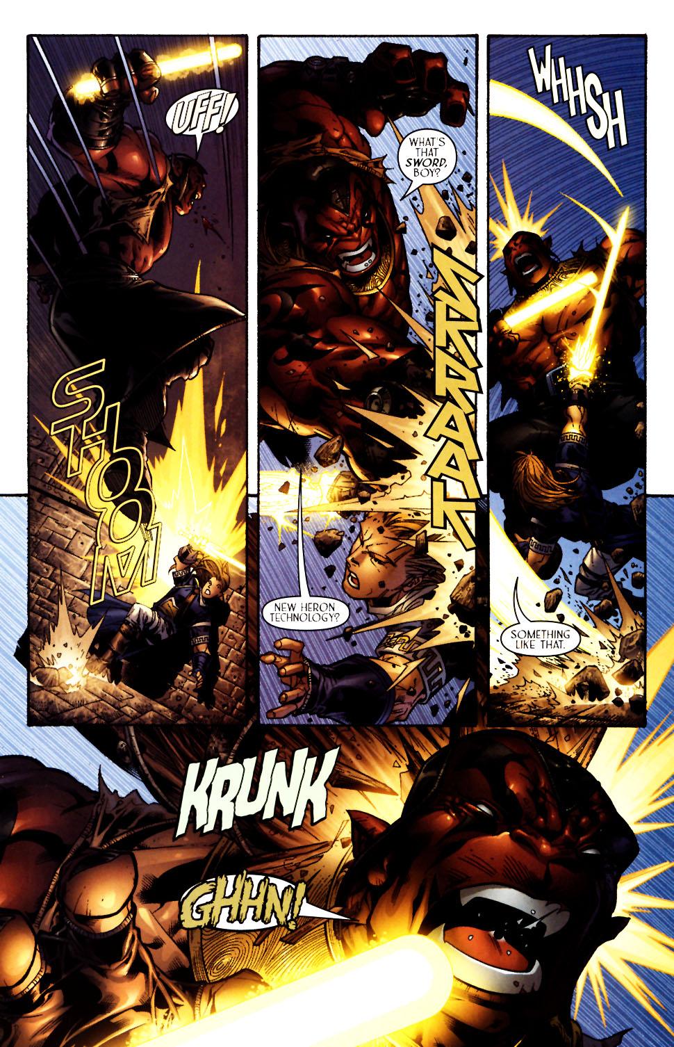 Read online Scion comic -  Issue #13 - 9