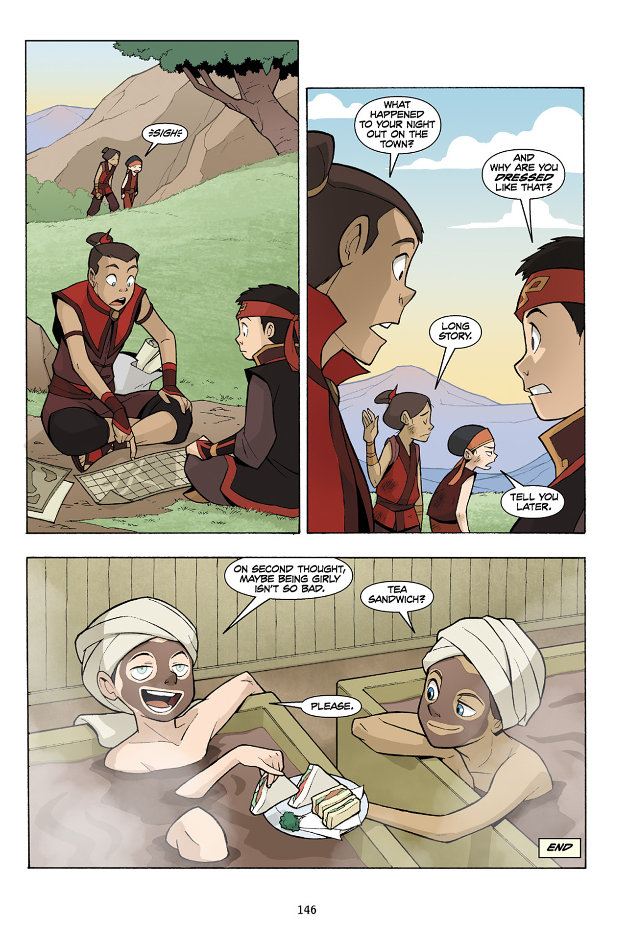 Nickelodeon Avatar: The Last Airbender - The Lost Adventures chap full pic 147