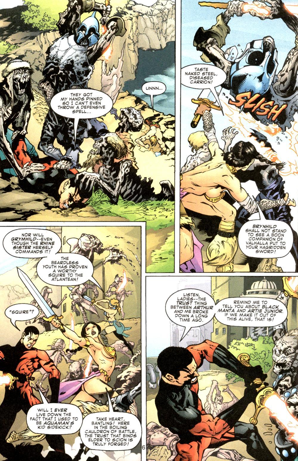 Aquaman (2003) Issue #8 #8 - English 7