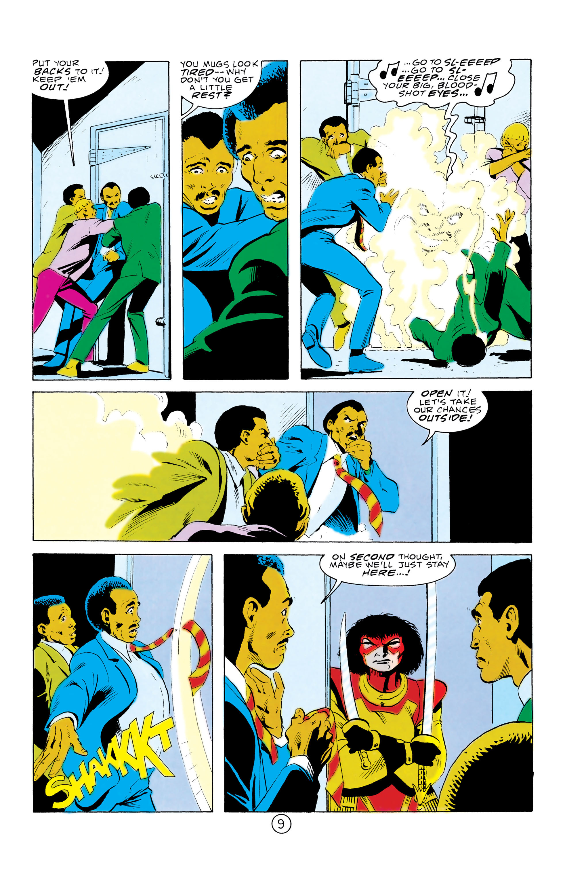 Batman and the Outsiders (1983) 32 Page 9