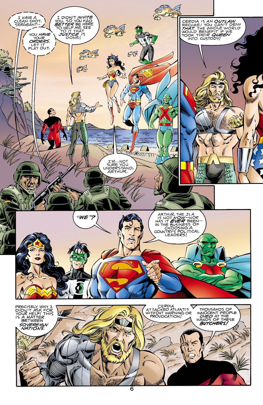 Aquaman (1994) Issue #66 #72 - English 6