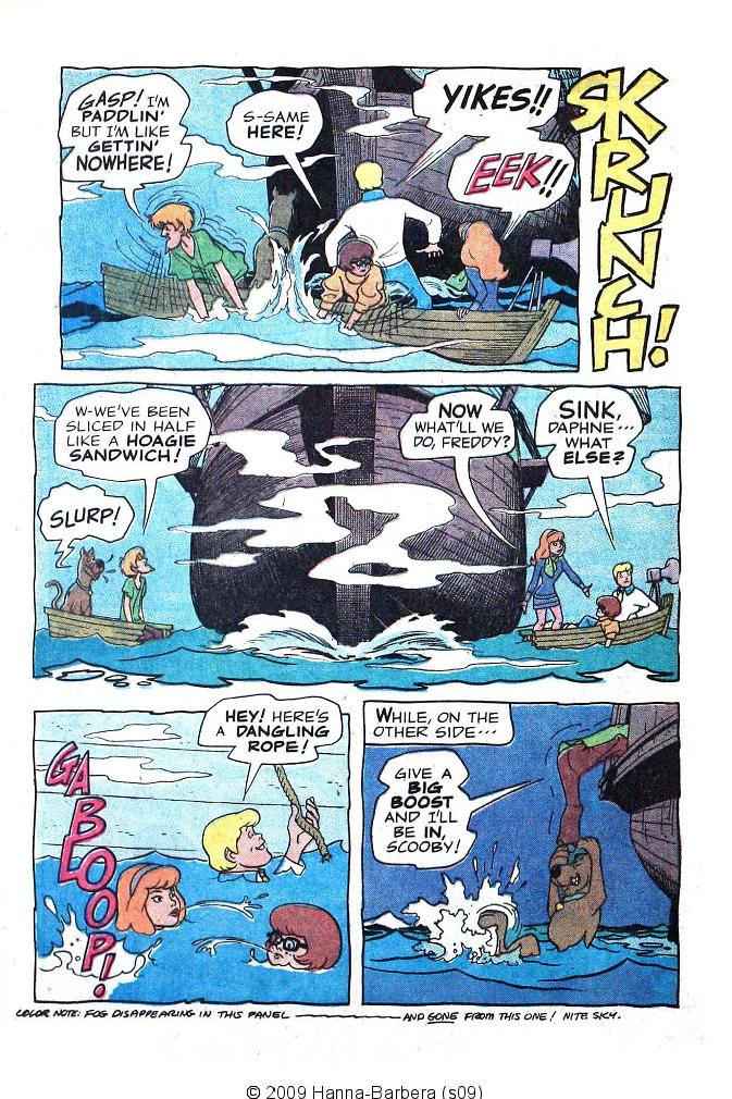 Read online Scooby-Doo... Where Are You! (1970) comic -  Issue #6 - 12
