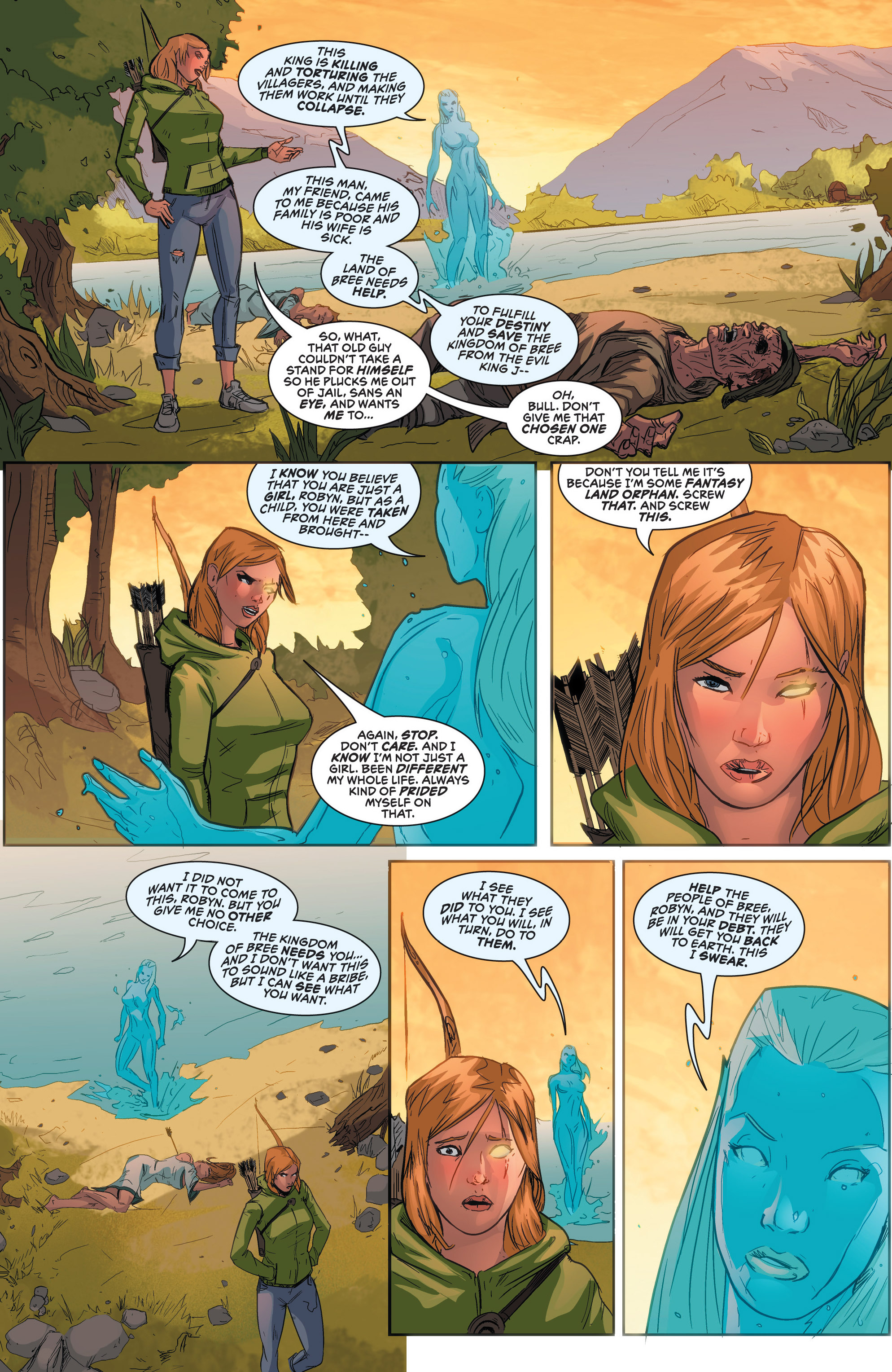 Read online Grimm Fairy Tales presents Robyn Hood (2012) comic -  Issue #2 - 10
