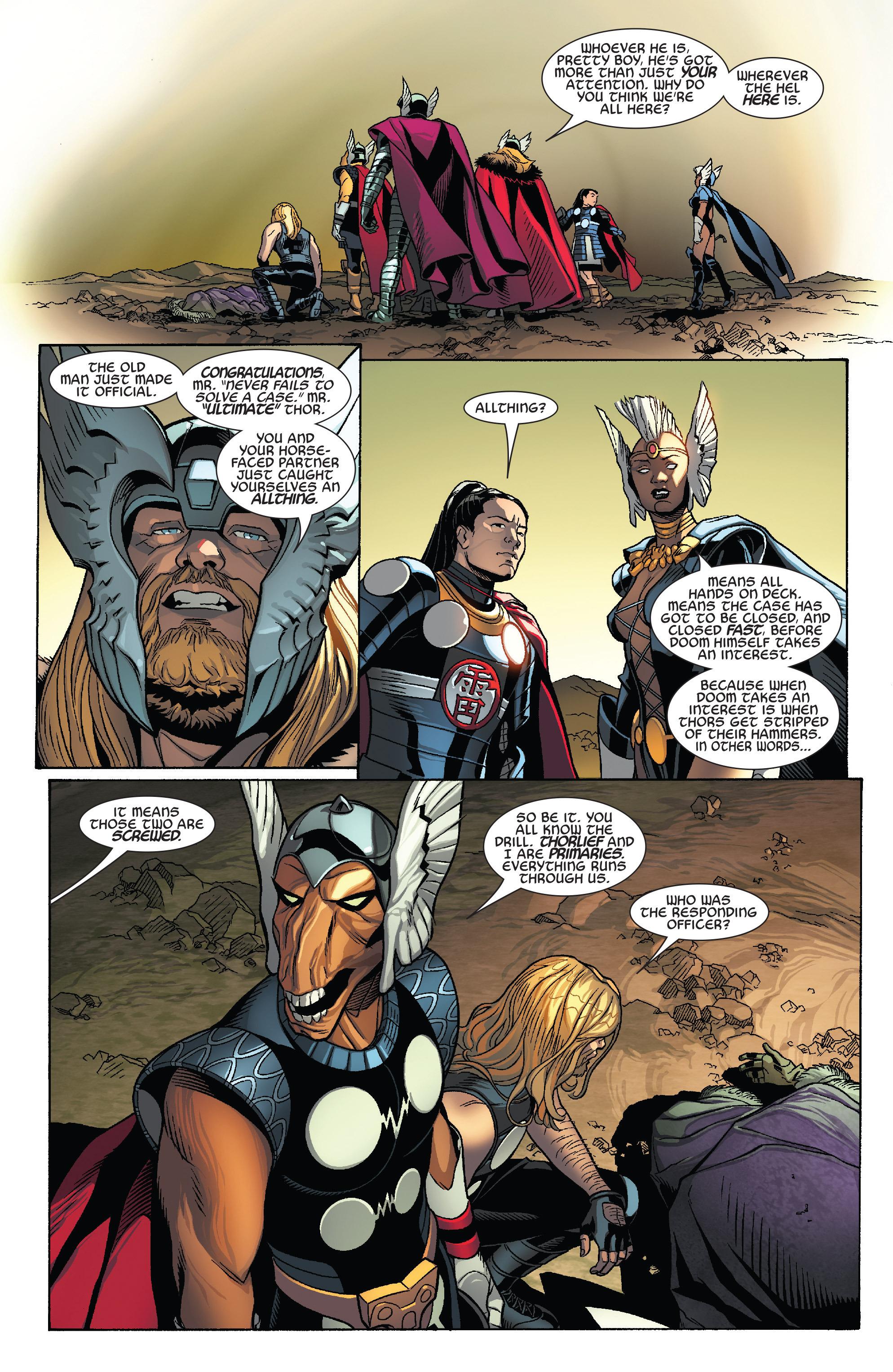 Thors #1 #4 - English 4