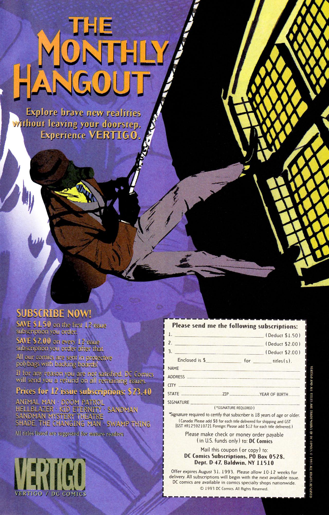Read online Sebastian O comic -  Issue #3 - 33