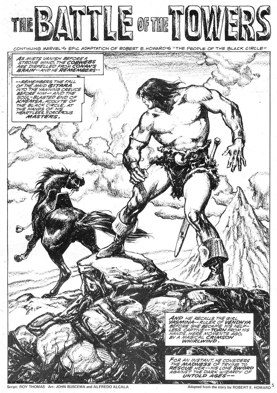 The Savage Sword Of Conan Issue #18 #19 - English 5