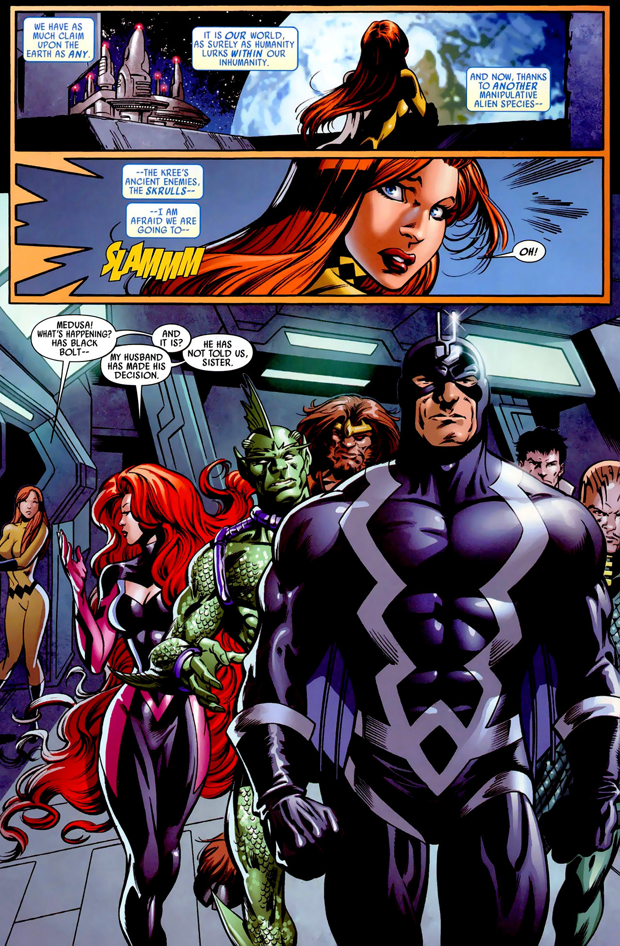Read online Secret Invasion: War of Kings comic -  Issue # Full - 10