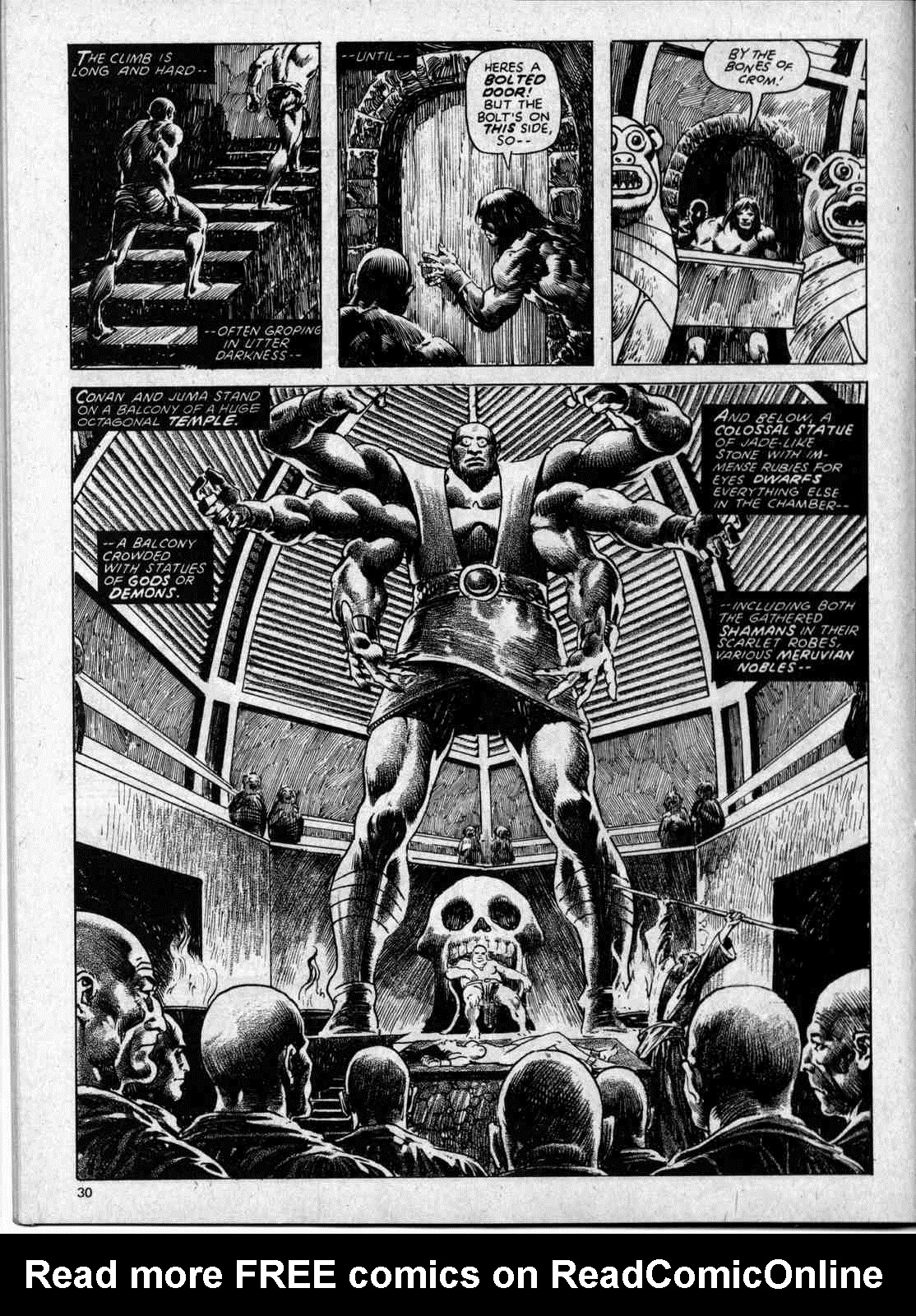 The Savage Sword Of Conan Issue #59 #60 - English 30