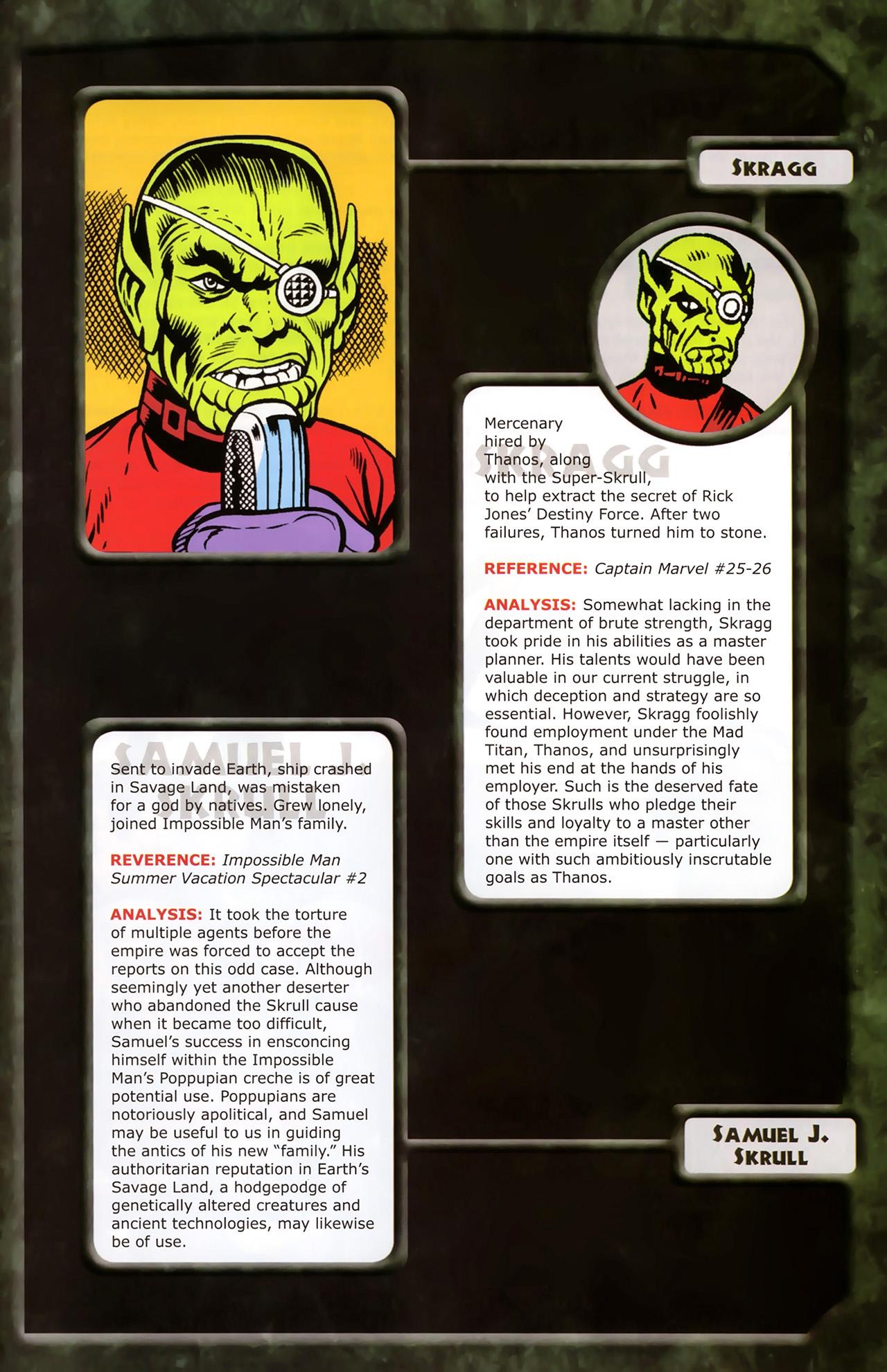 Read online Skrulls! comic -  Issue # Full - 45