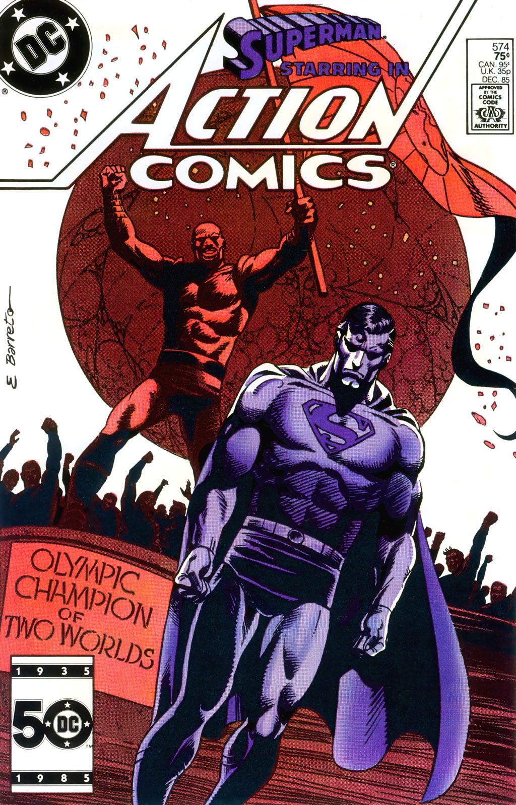 Action Comics (1938) 574 Page 1