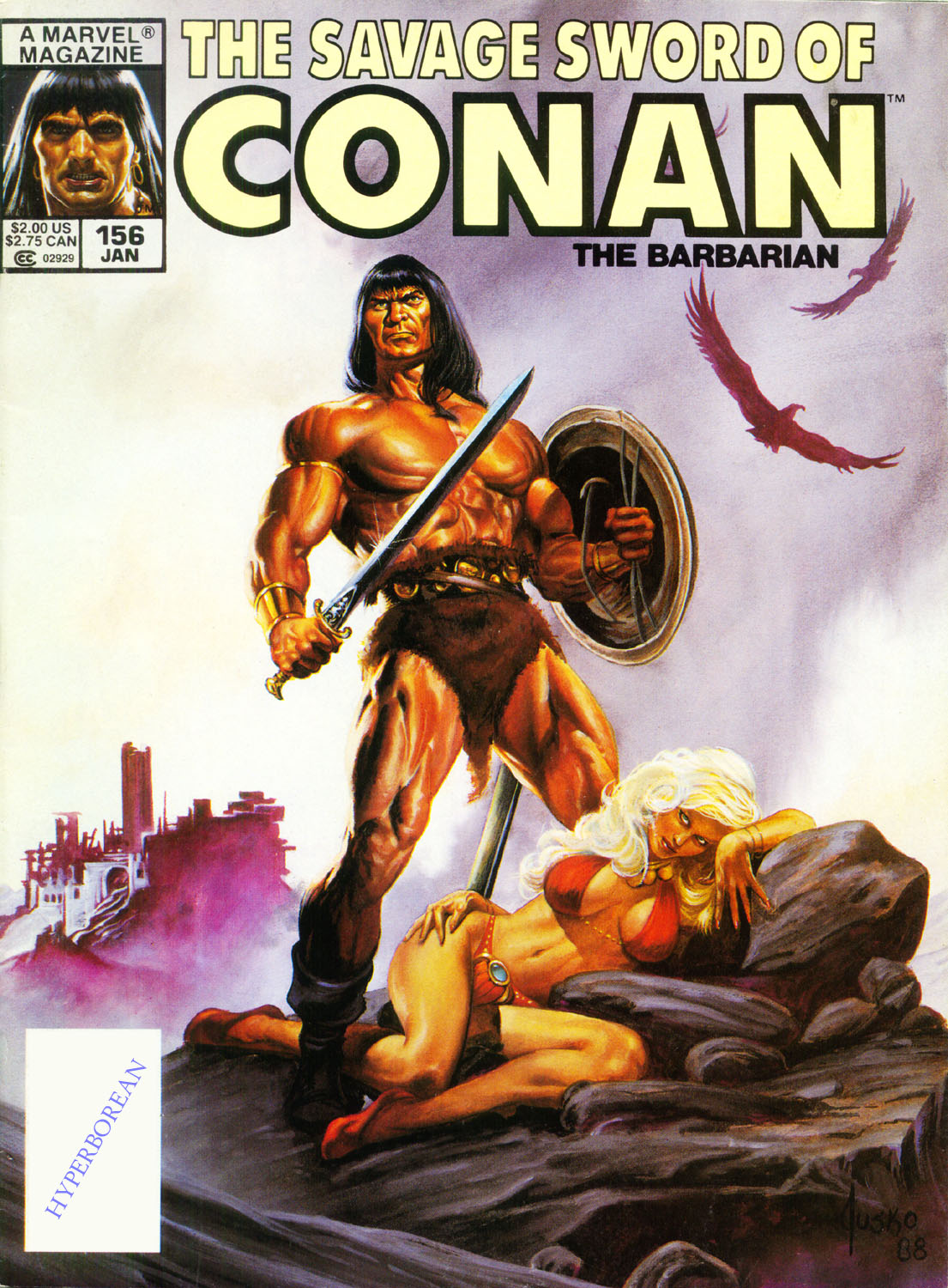 The Savage Sword Of Conan Issue #156 #157 - English 1