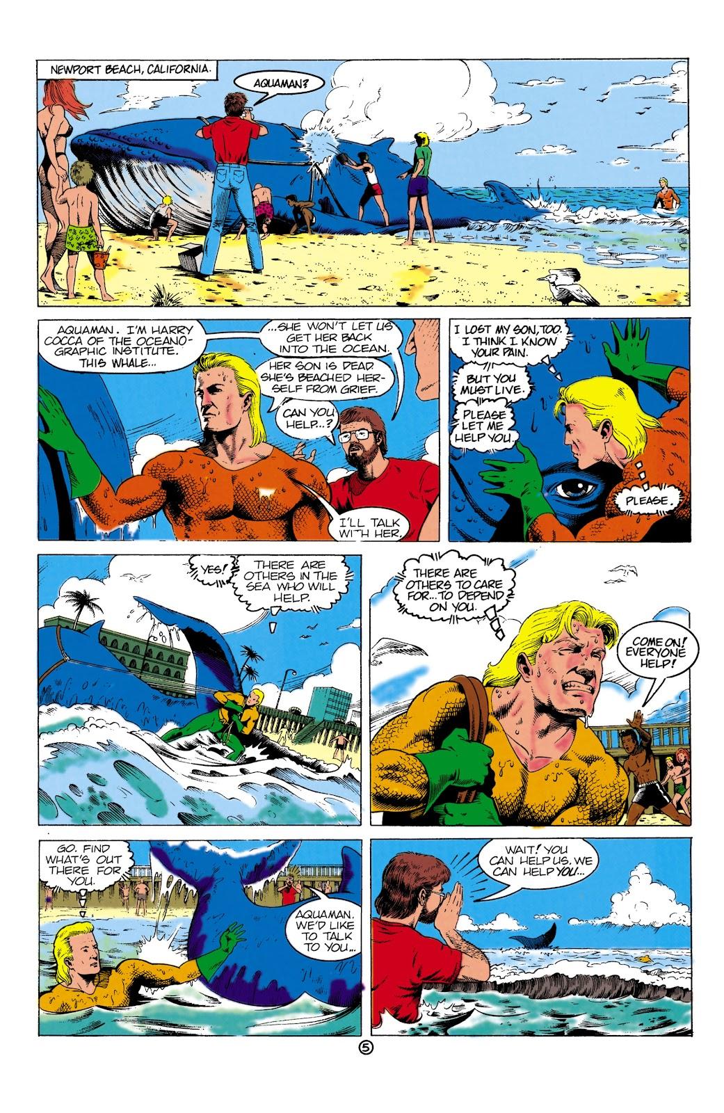 Aquaman (1991) Issue #1 #1 - English 5