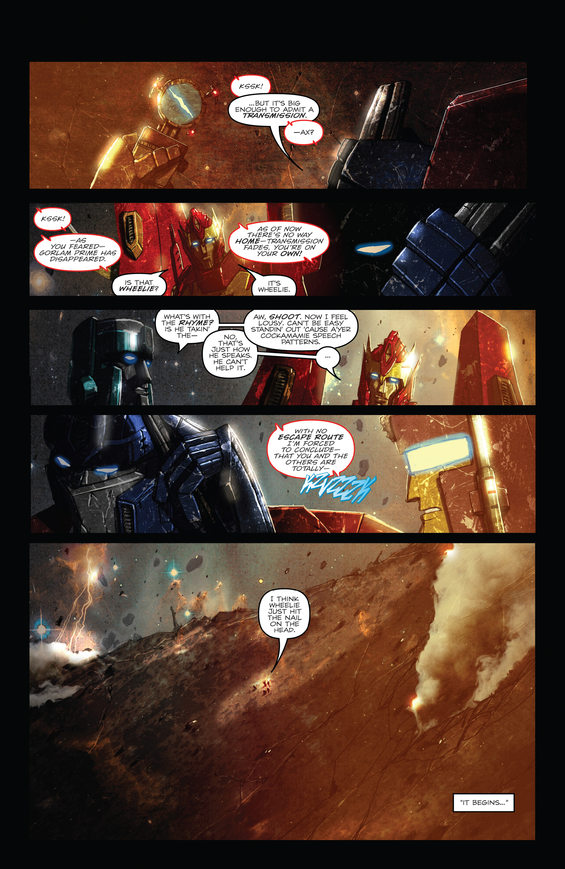 Read online The Transformers: Dark Cybertron Finale comic -  Issue # Full - 79
