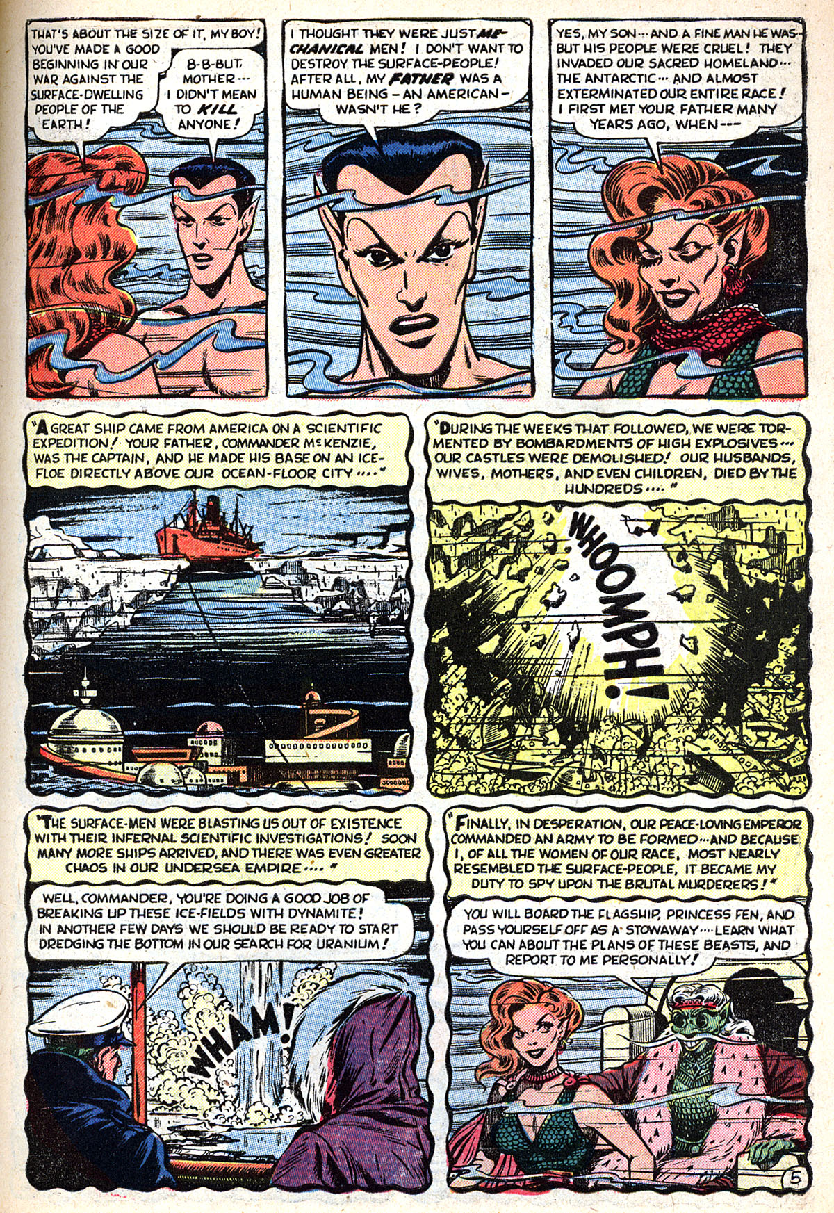 Sub-Mariner Comics #33 #33 - English 7