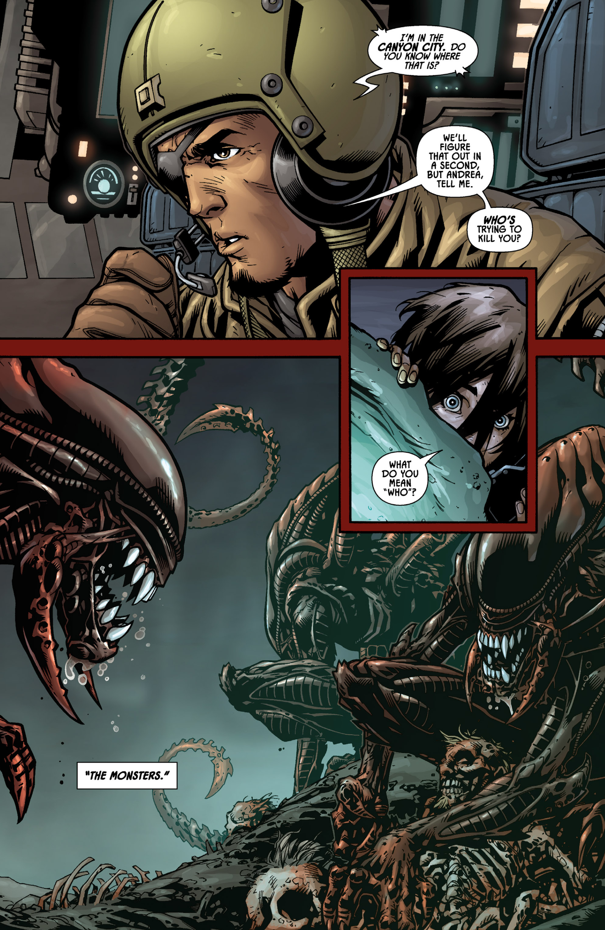 Aliens (2009) TPB Page 39