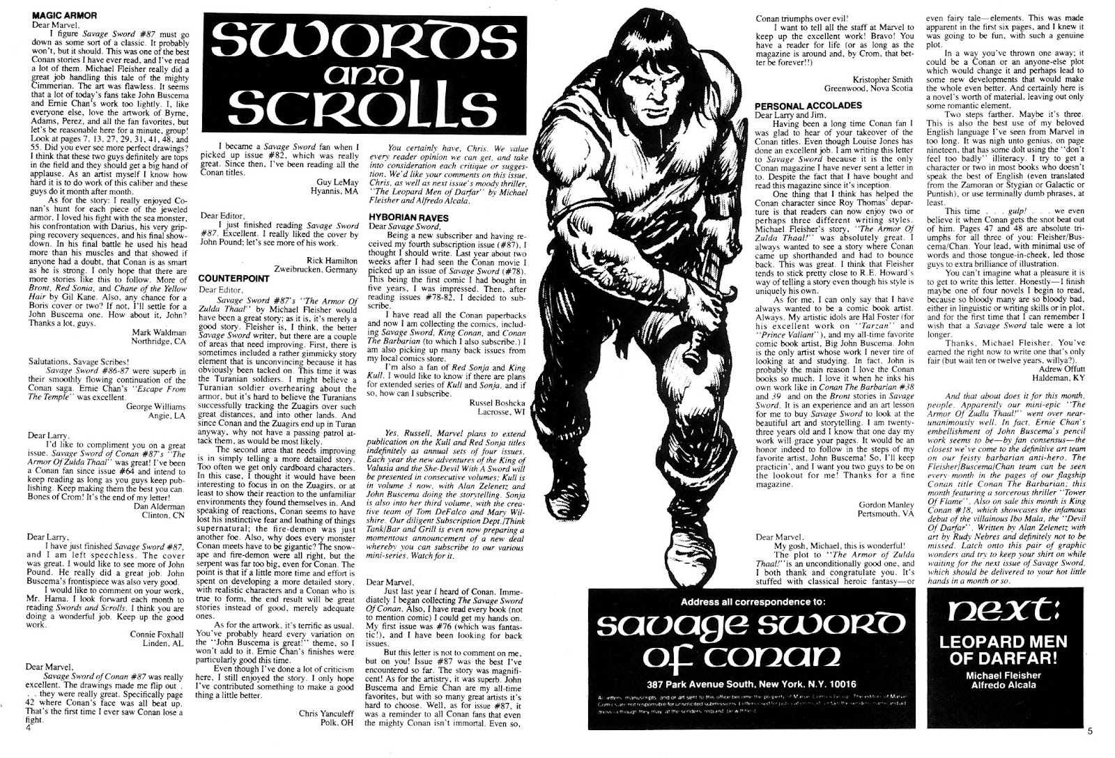 The Savage Sword Of Conan Issue #91 #92 - English 4