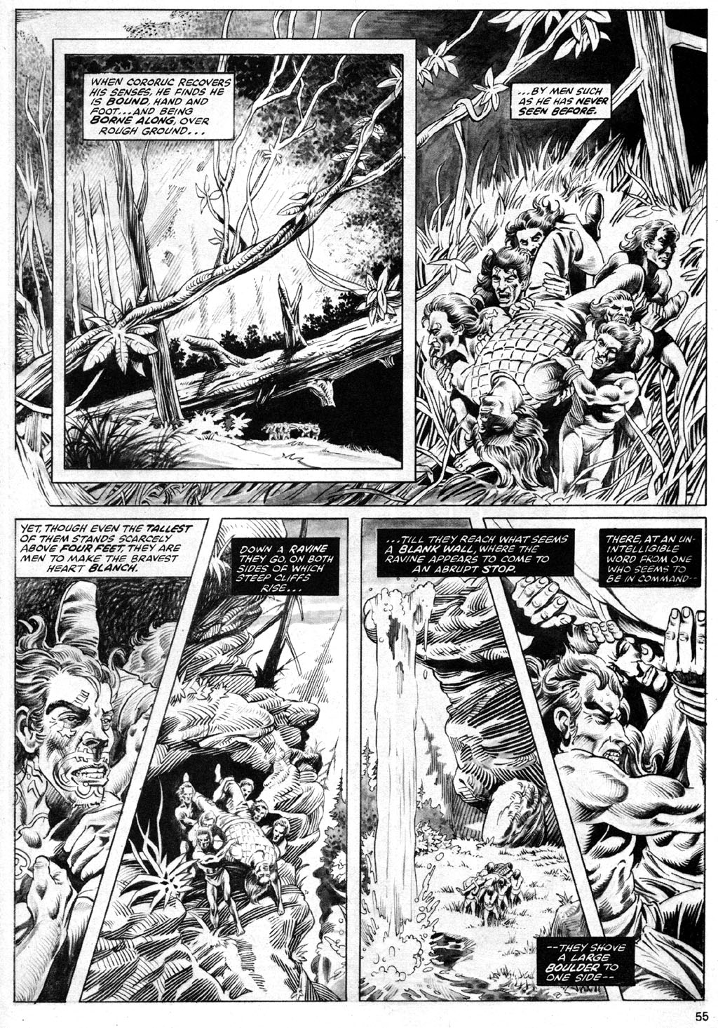 The Savage Sword Of Conan Issue #69 #70 - English 55