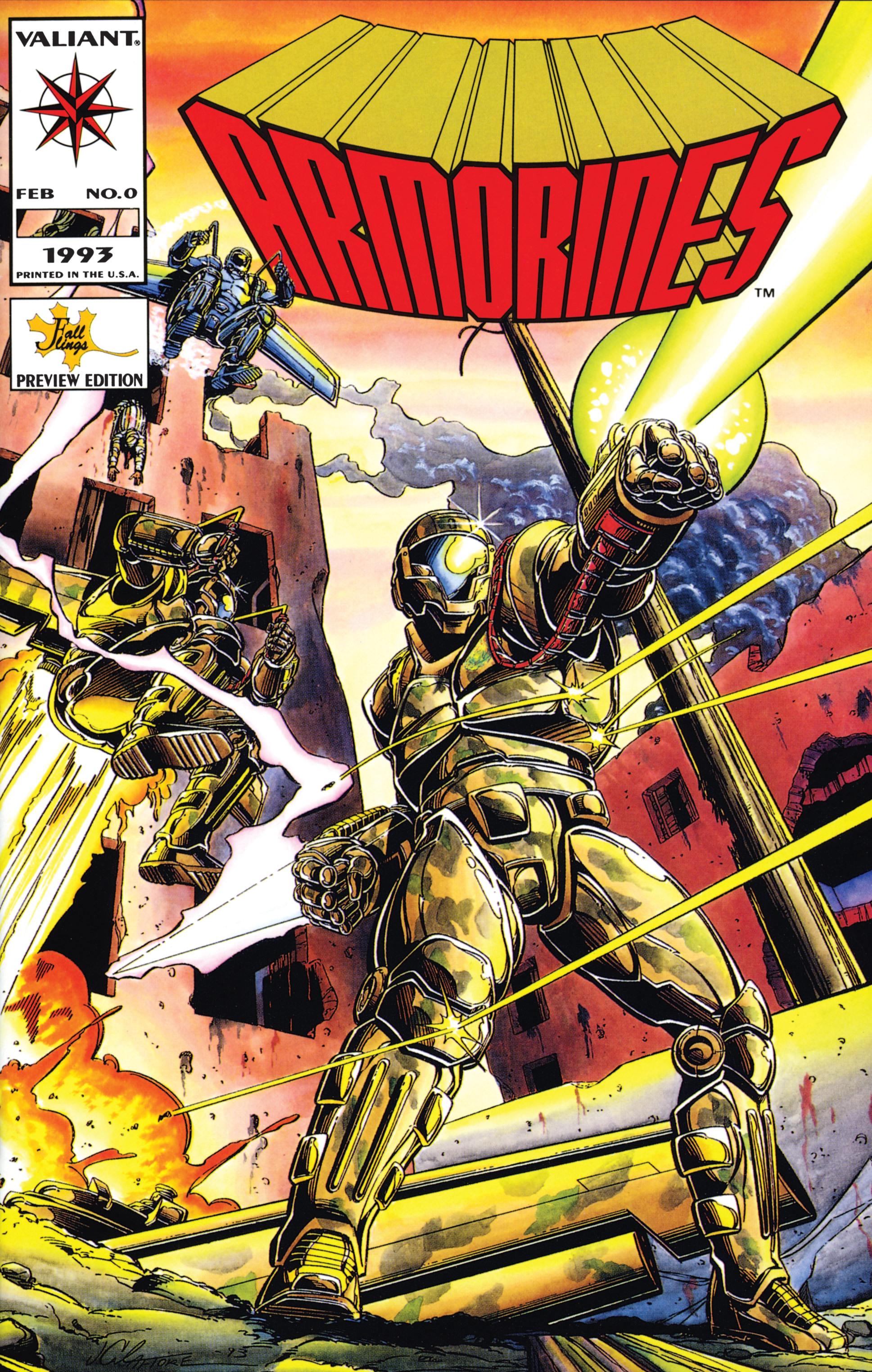 Armorines (1994) 0 Page 1