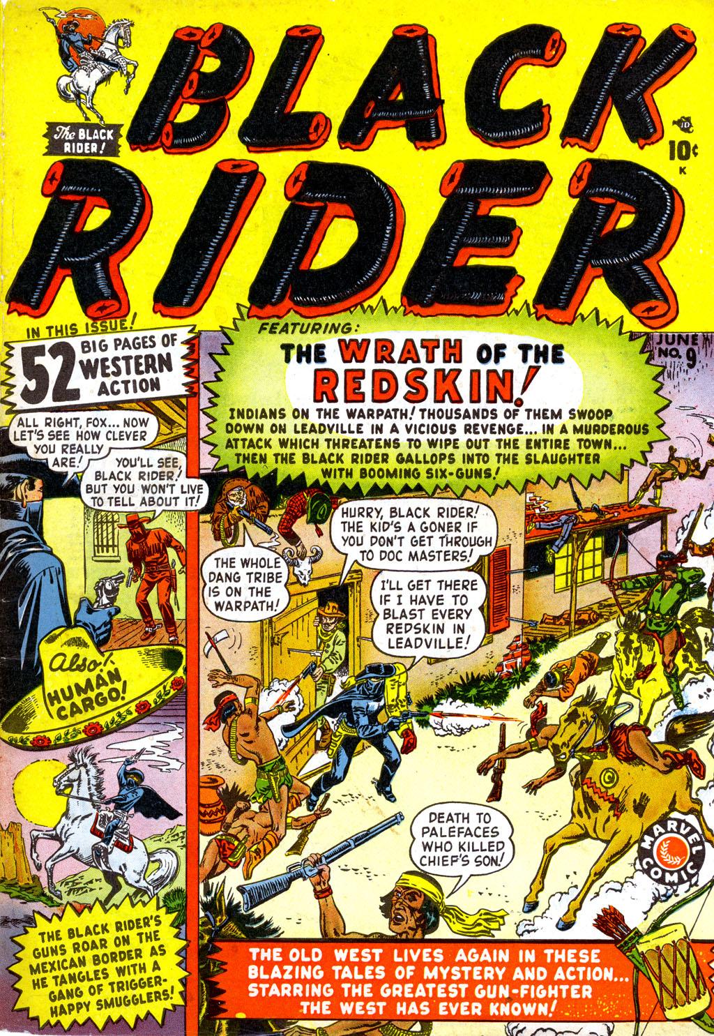 Black Rider 9 Page 1
