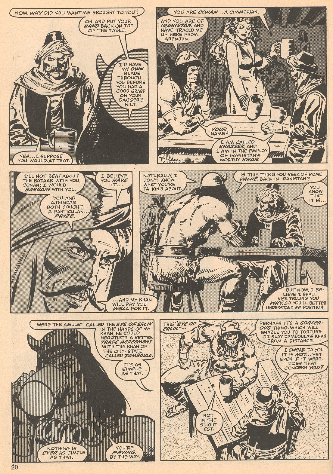The Savage Sword Of Conan Issue #56 #57 - English 20