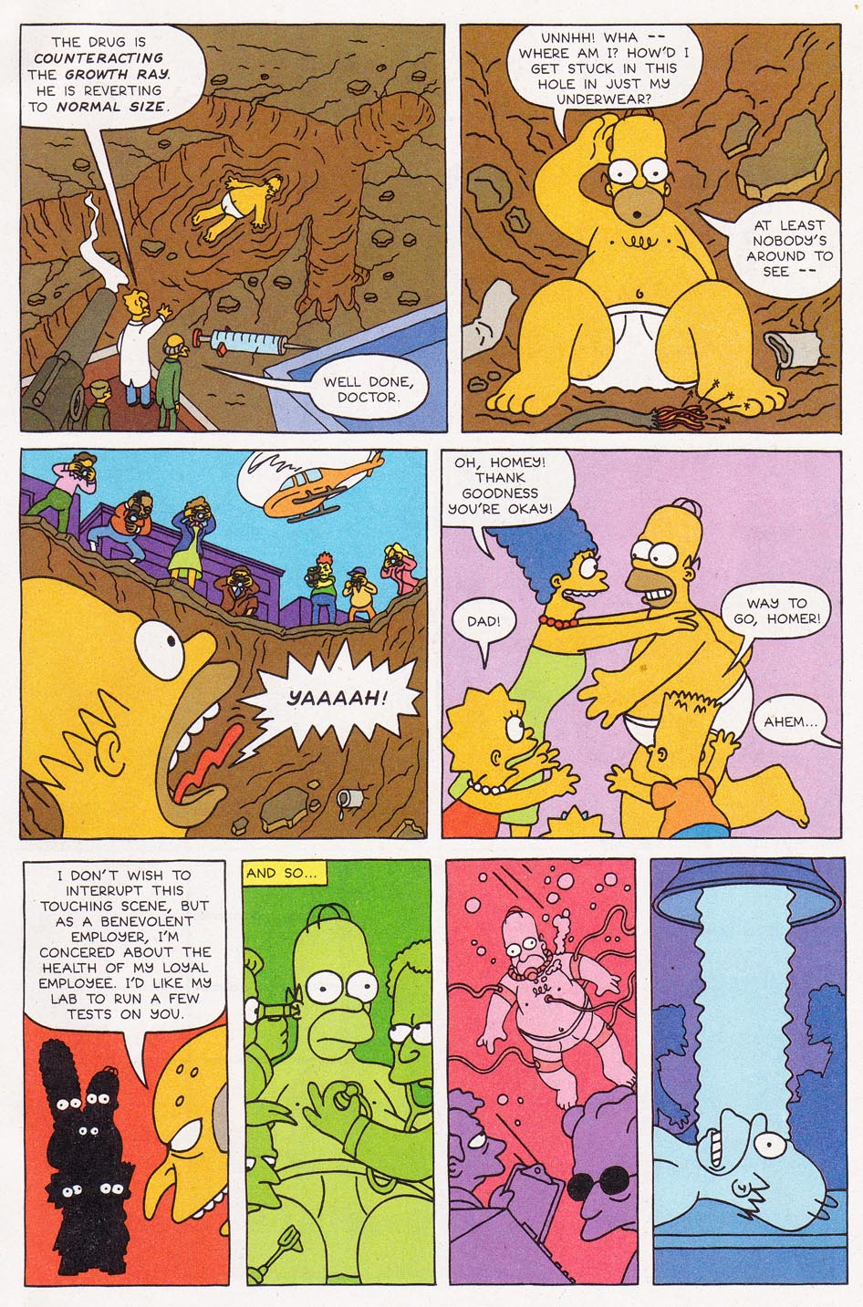 Read online Simpsons Comics comic -  Issue #1 - 25