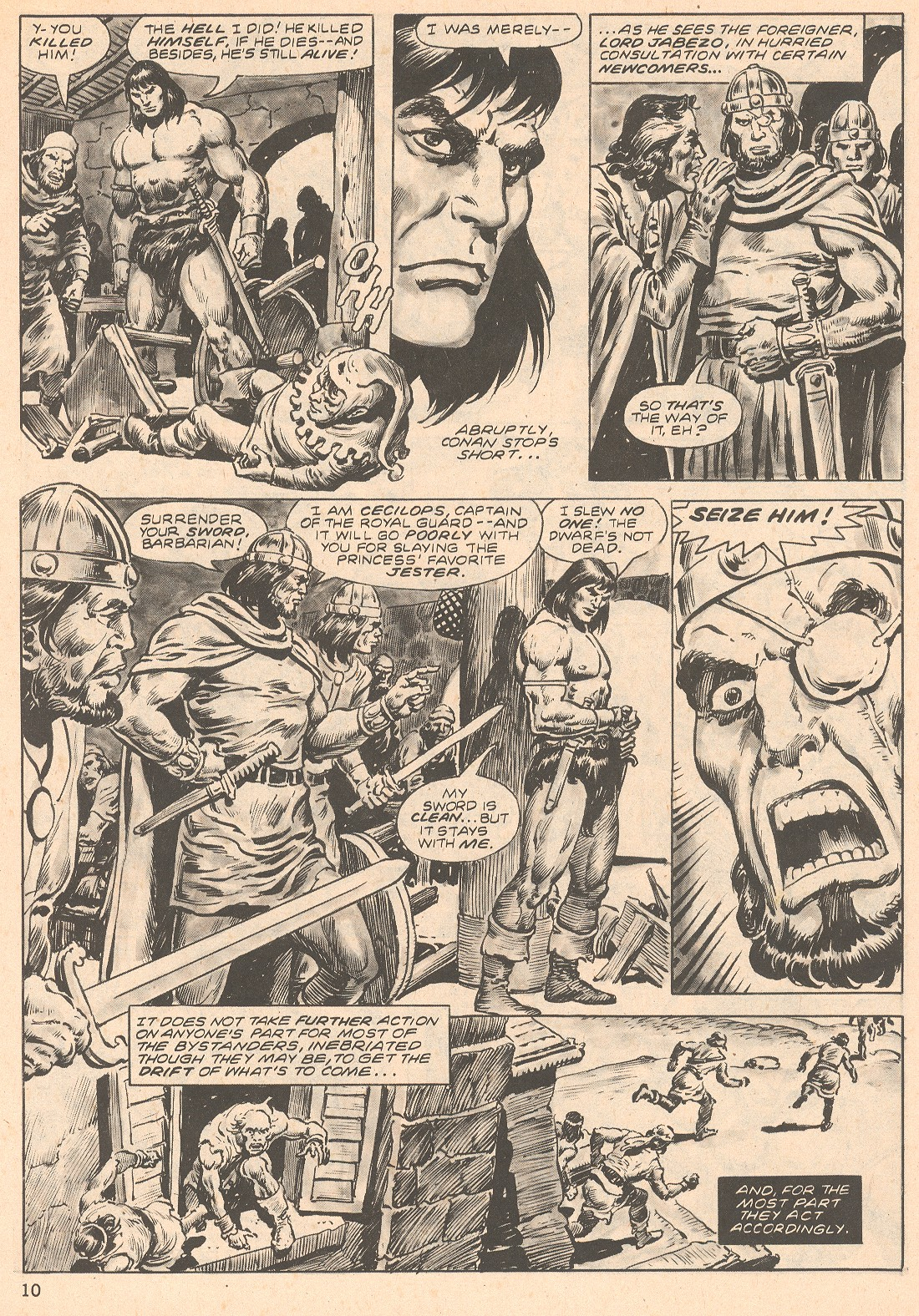 The Savage Sword Of Conan Issue #66 #67 - English 10