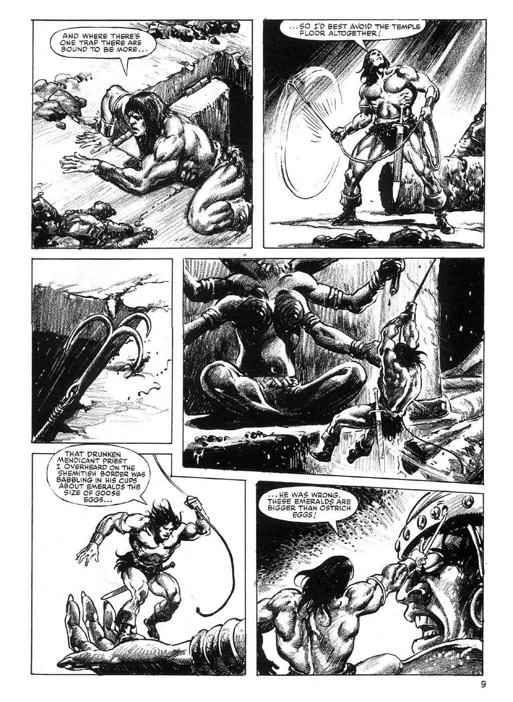 The Savage Sword Of Conan Issue #89 #90 - English 9