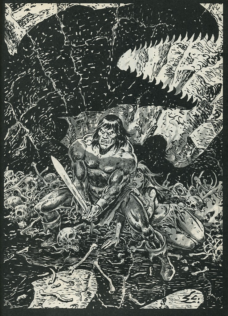 The Savage Sword Of Conan Issue #172 #173 - English 59