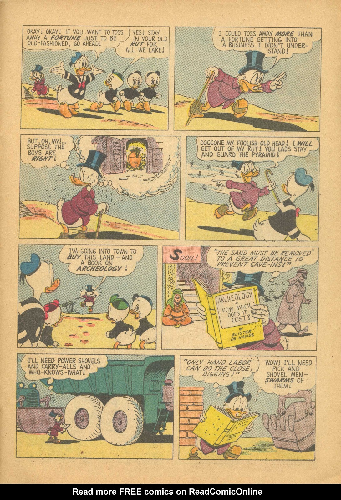 Uncle Scrooge (1953) Issue #25 #25 - English 31