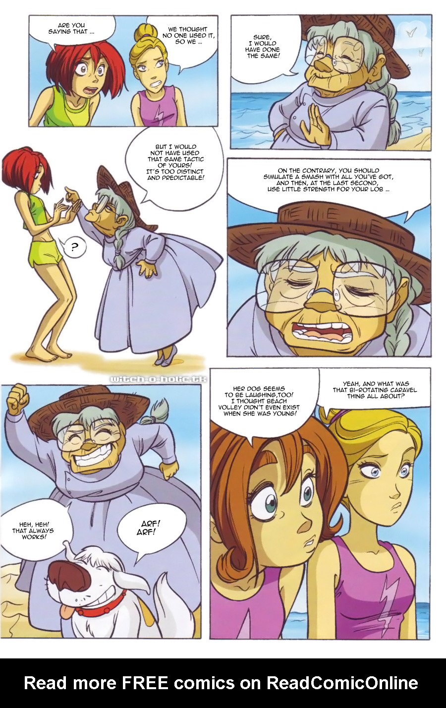Read online W.i.t.c.h. comic -  Issue #136 - 20