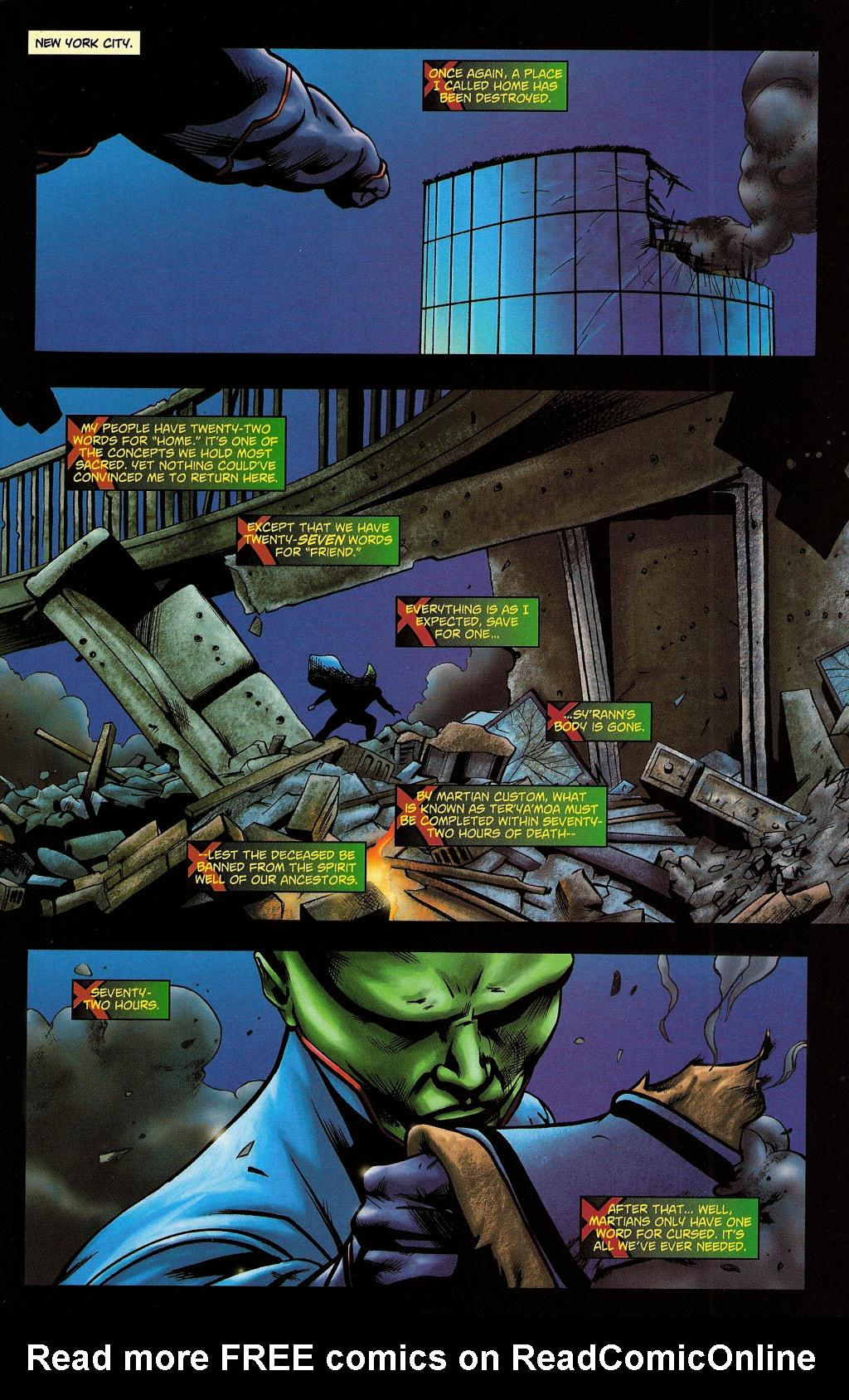 Read online Martian Manhunter (2006) comic -  Issue #5 - 11