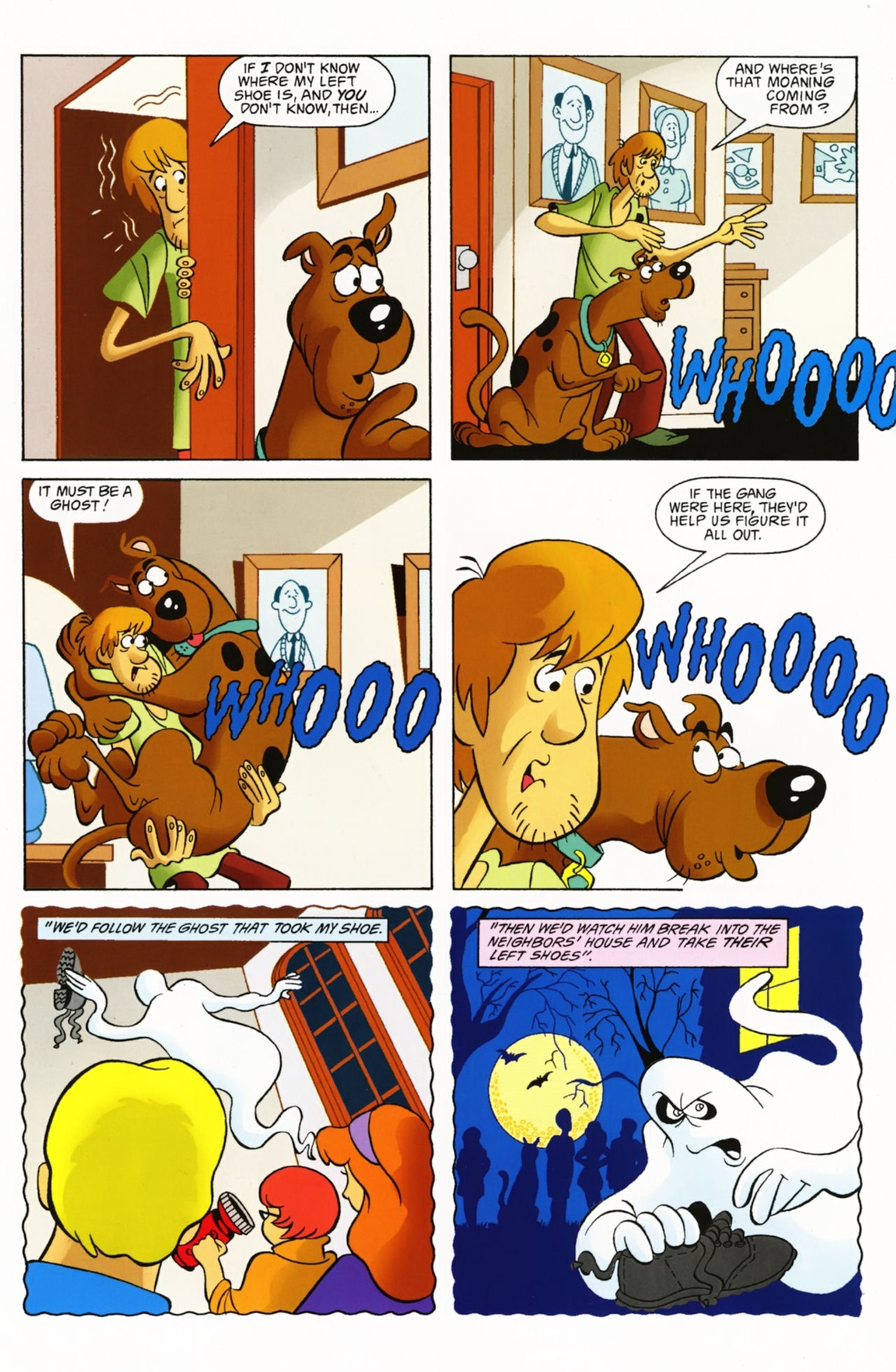 Read online Scooby-Doo: Where Are You? comic -  Issue #3 - 24