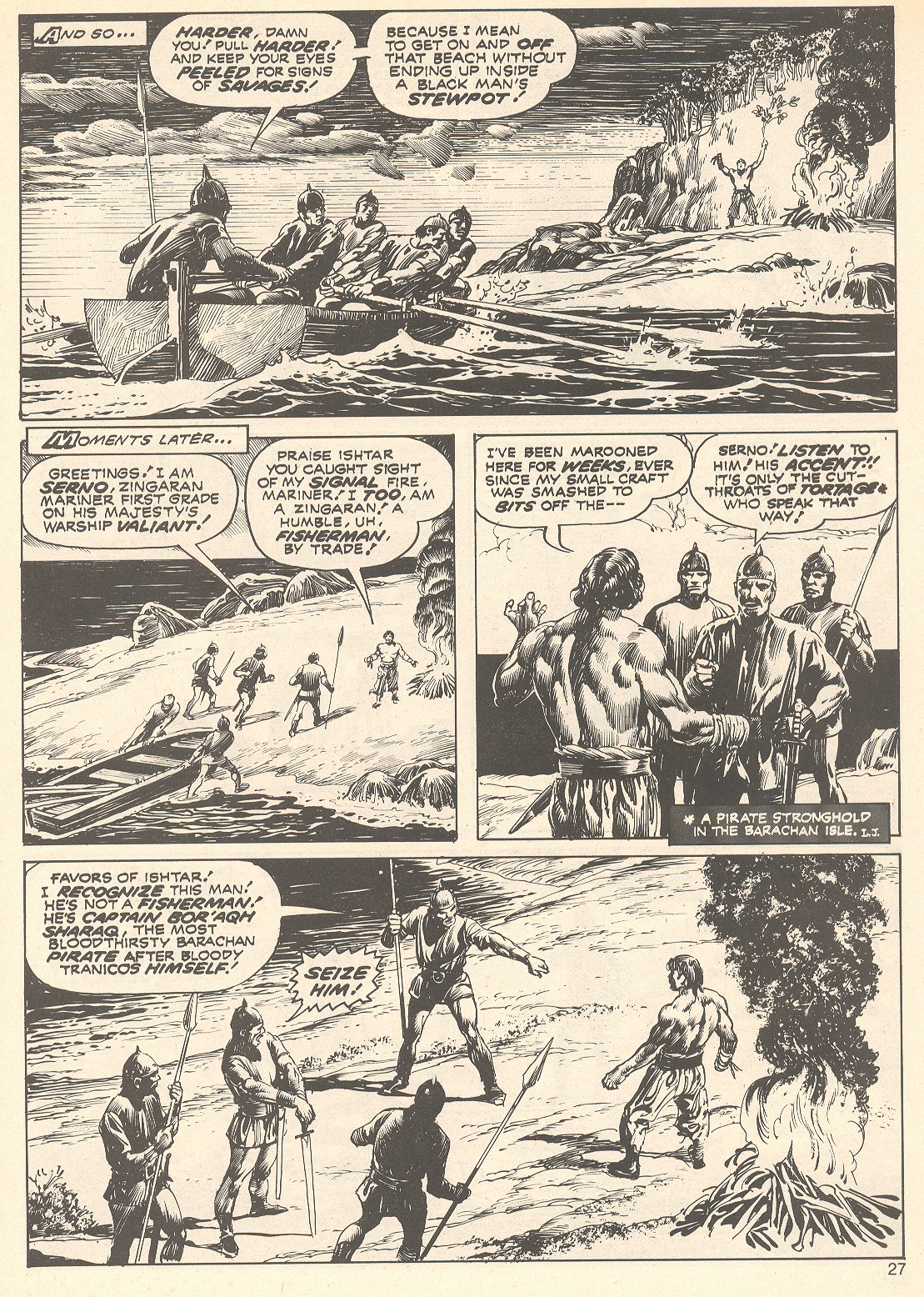 The Savage Sword Of Conan Issue #75 #76 - English 27