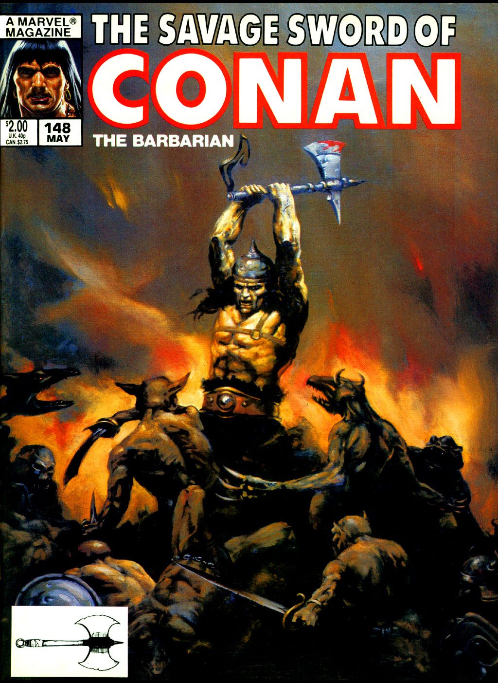 The Savage Sword Of Conan Issue #148 #149 - English 1