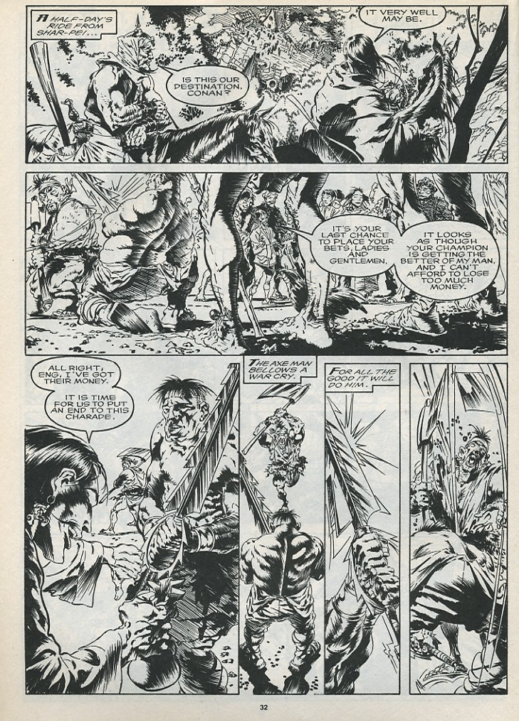 The Savage Sword Of Conan Issue #175 #176 - English 34