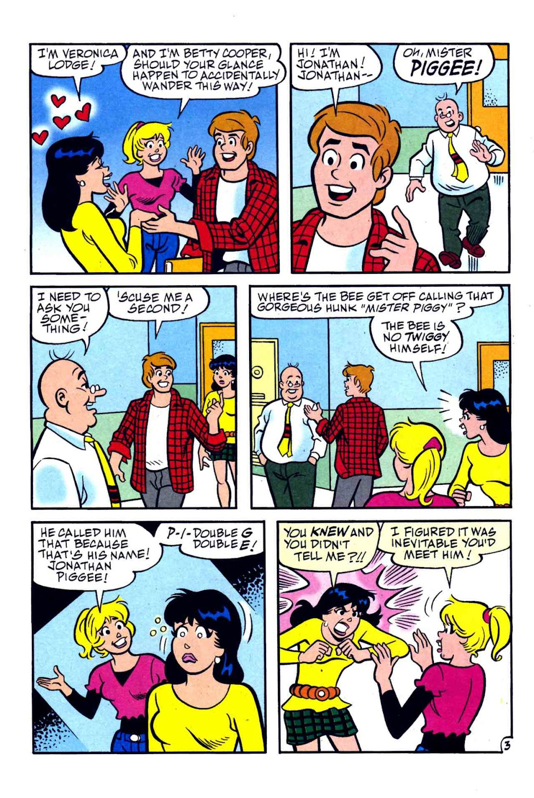Comic Archie S Girls Betty And Veronica Issue 174