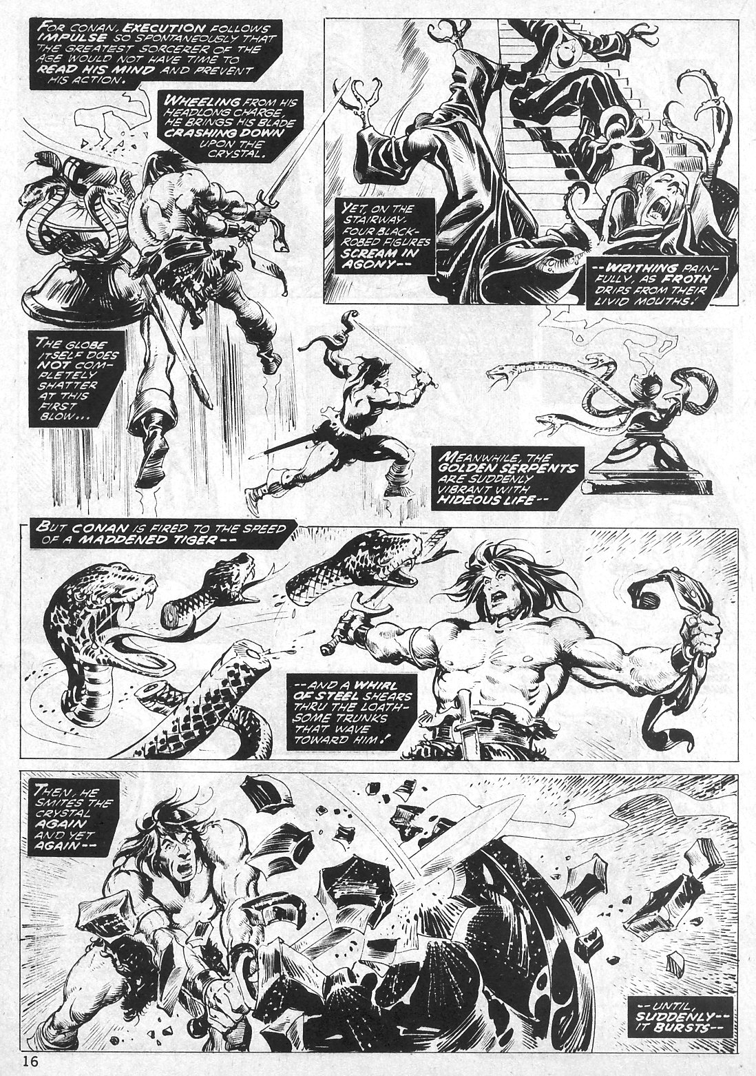 The Savage Sword Of Conan Issue #19 #20 - English 16