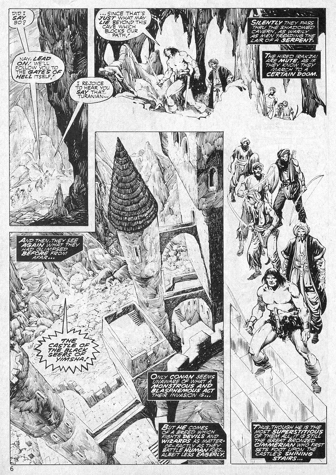 The Savage Sword Of Conan Issue #19 #20 - English 6