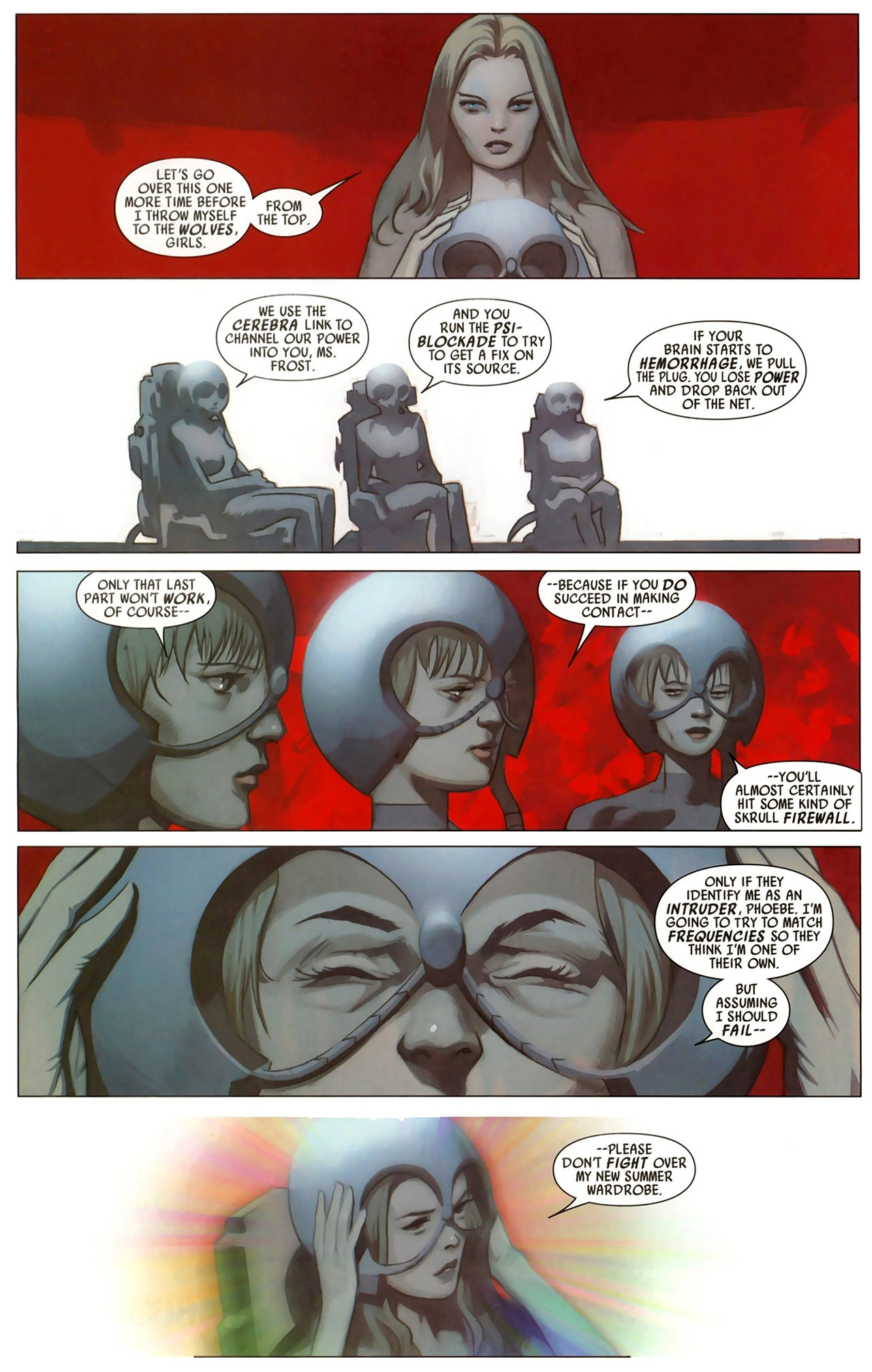 Read online Secret Invasion: X-Men comic -  Issue #2 - 18