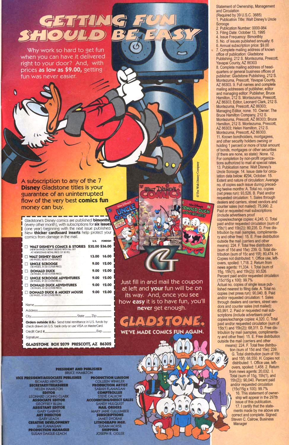 Uncle Scrooge (1953) Issue #297 #297 - English 28