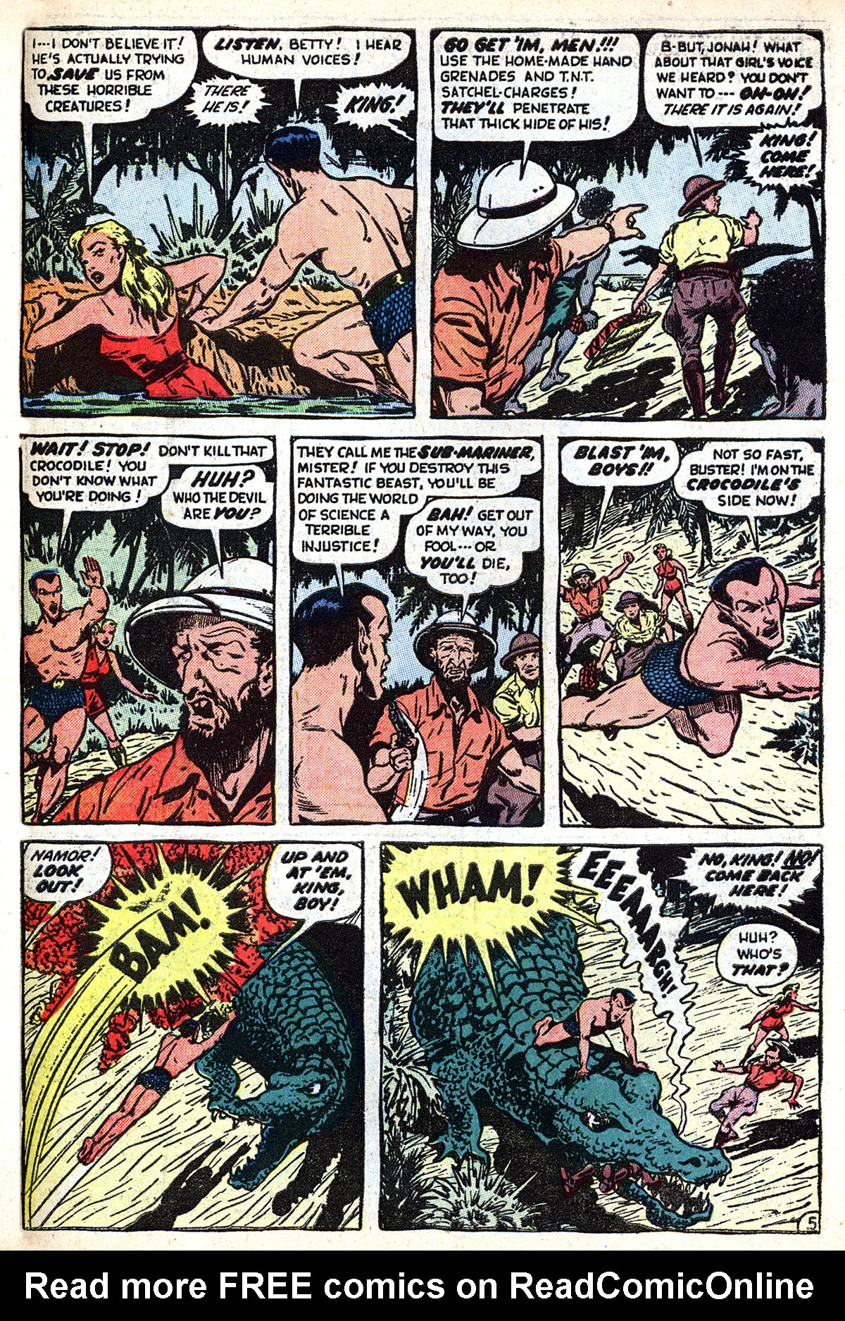 Sub-Mariner Comics #33 #33 - English 31