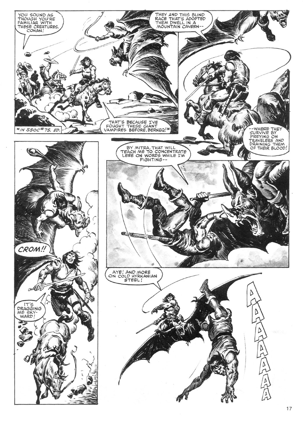 The Savage Sword Of Conan Issue #87 #88 - English 17
