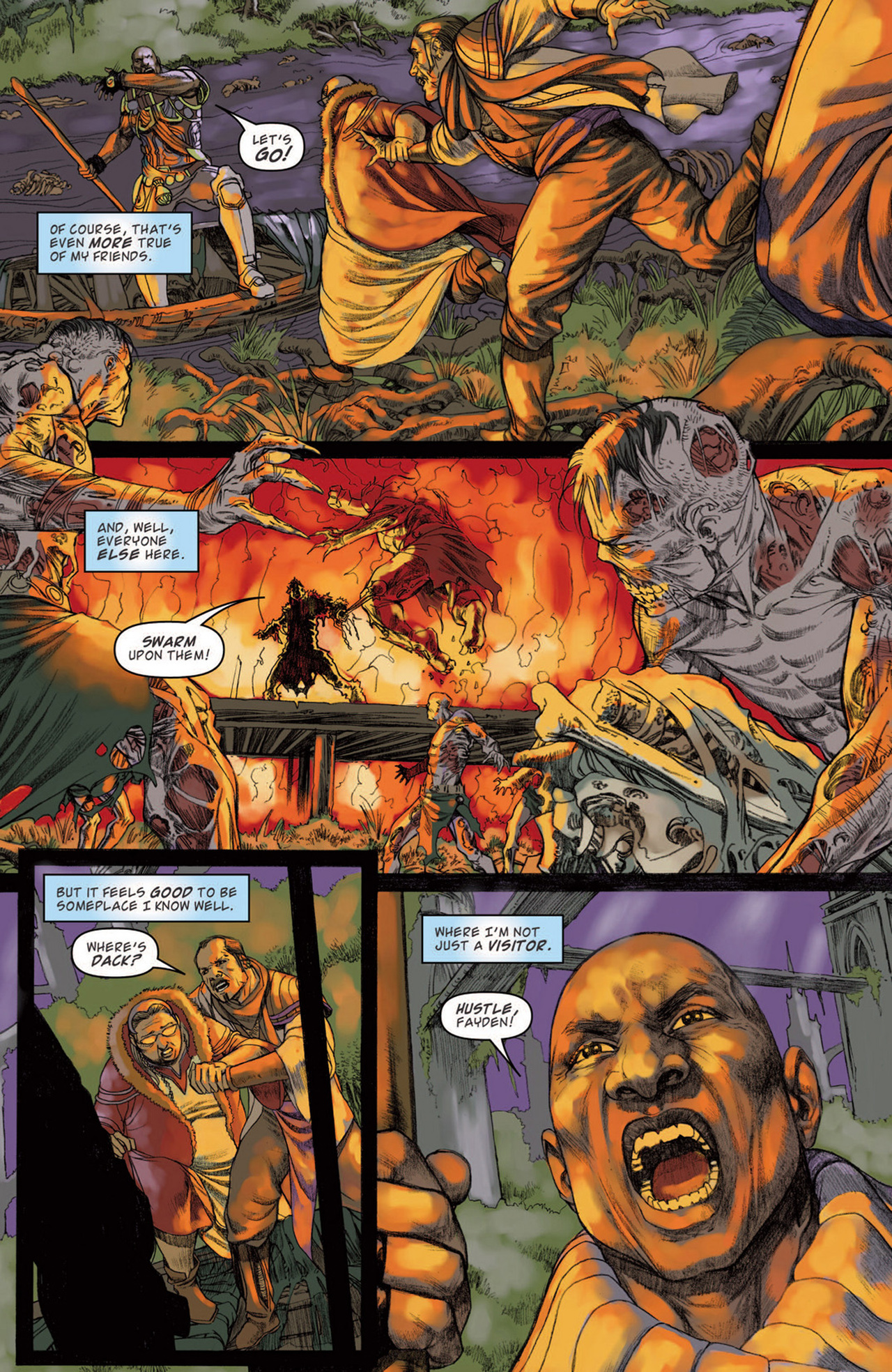 Read online Magic: The Gathering--Path of Vengeance comic -  Issue #3 - 16
