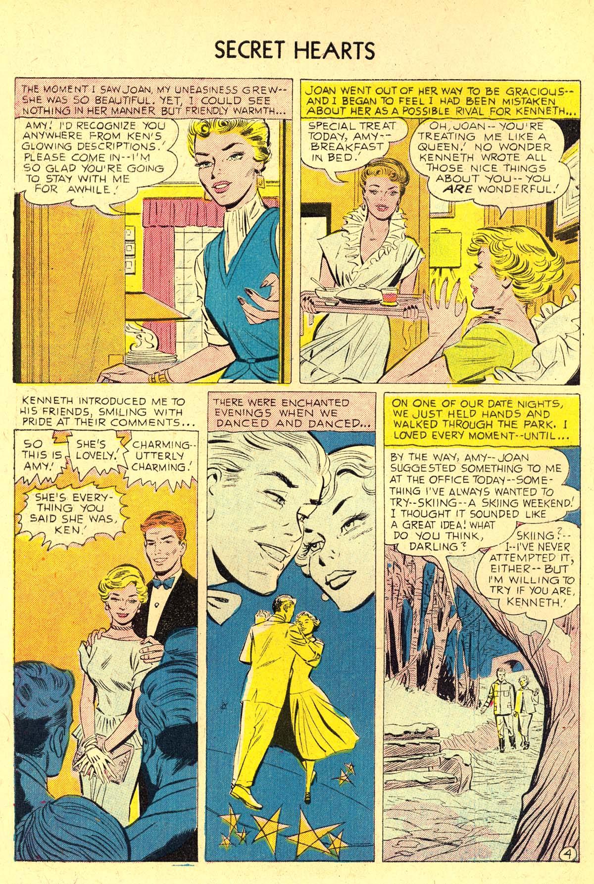Read online Secret Hearts comic -  Issue #37 - 6