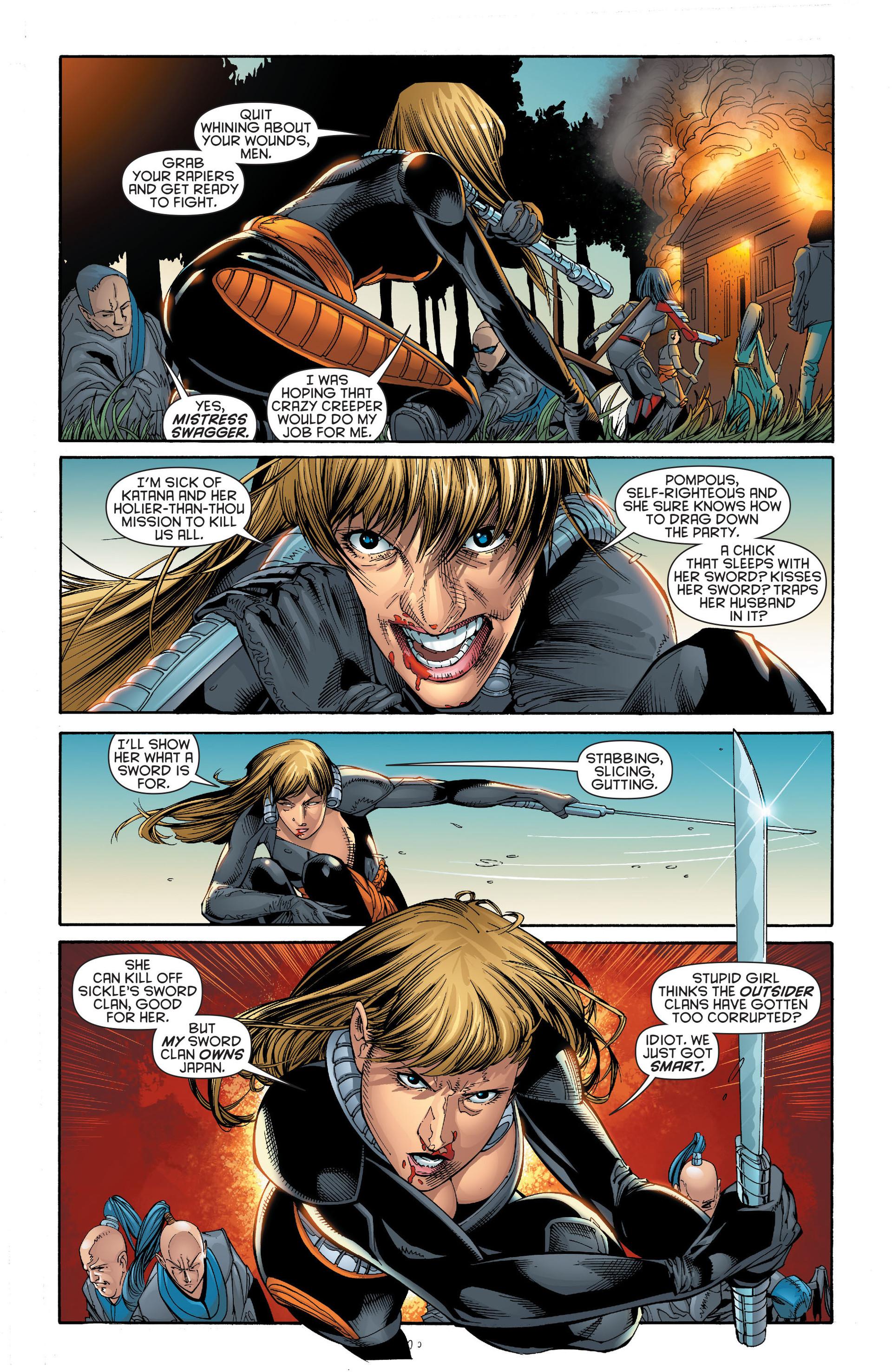 Read online Katana comic -  Issue #6 - 7