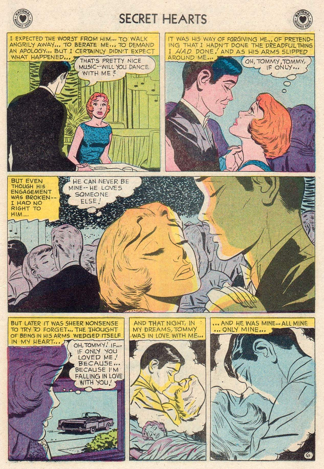 Read online Secret Hearts comic -  Issue #46 - 15